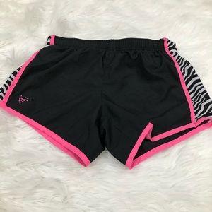 2/$12 Justice zebra shorts